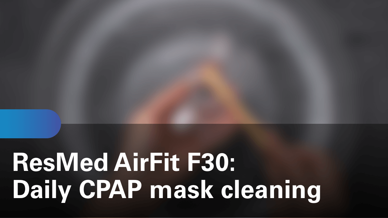 sleep-apnea-airfit-f30-daily-cpap-mask-cleaning