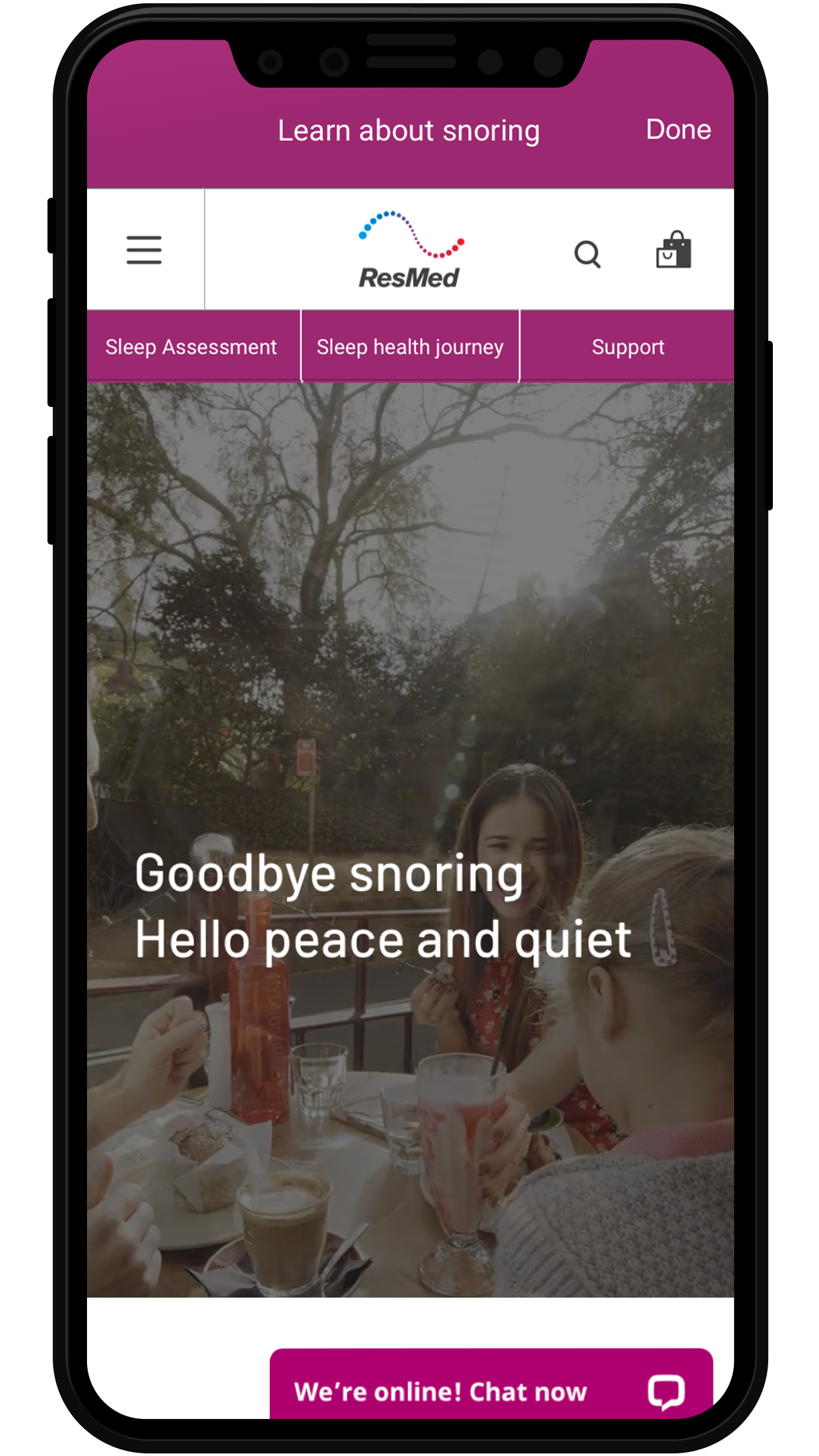 myNight 1.2_learn about snoring